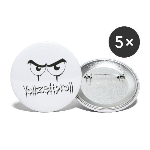 Vollzeitproll - Buttons klein 25 mm (5er Pack)