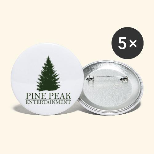 Pine Peak Entertainment - Buttons klein 25 mm (5-pack)