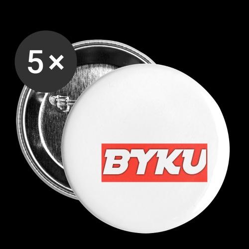BYKUclothes - Przypinka mała 25 mm (pakiet 5 szt.)