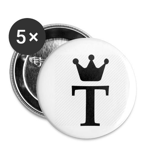 King Tobias of Norway - Liten pin 25 mm (5-er pakke)