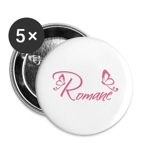 Romane - Lot de 5 petits badges (25 mm)