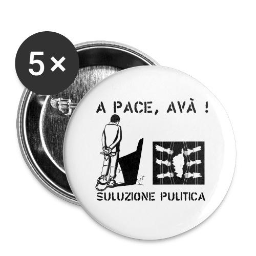 A PACE AVA 2 - Lot de 5 petits badges (25 mm)