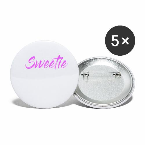 Sweetie - Buttons small 1''/25 mm (5-pack)