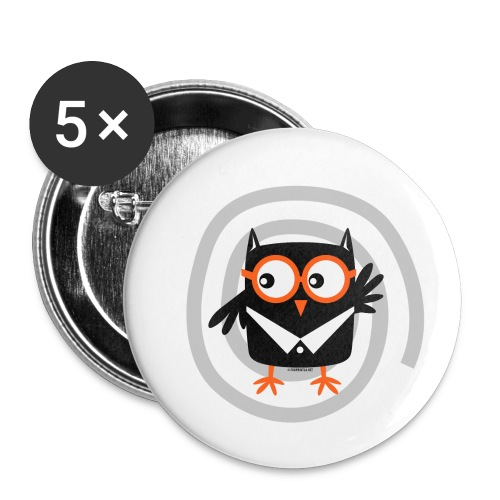 FP10-55 SUIT OWL - TEXTILE AND GIFT PRODUCTS - Rintamerkit pienet 25 mm