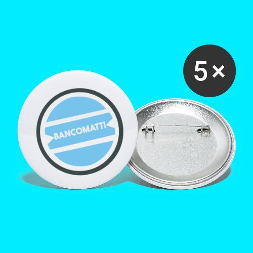 Bancomatti - Confezione da 5 spille piccole (25 mm)