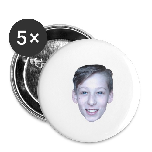 Miloo Official Logo - Buttons klein 25 mm (5-pack)