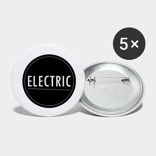 Electric - Buttons klein 25 mm (5er Pack)