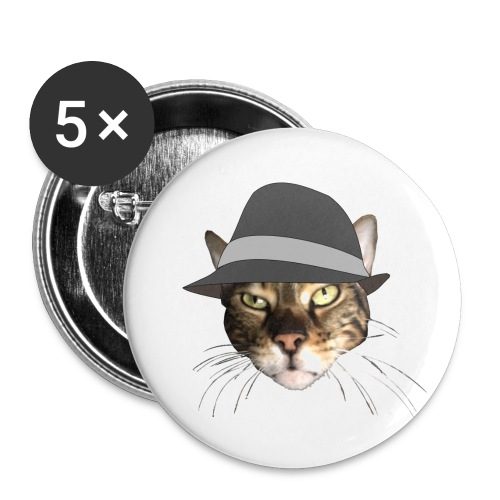 george hat - Buttons small 1''/25 mm (5-pack)