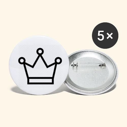 The Queen - Buttons/Badges lille, 25 mm (5-pack)