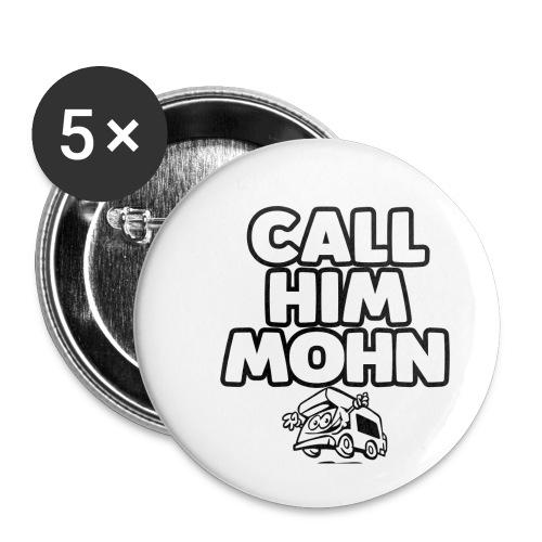 CallHimMohn - Buttons klein 25 mm (5er Pack)