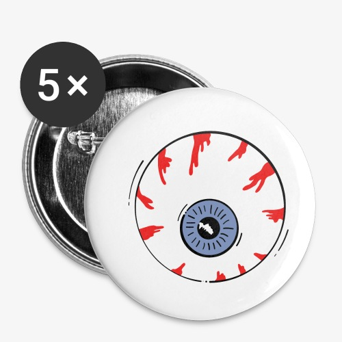 I keep an eye on you / Auge - Buttons klein 25 mm