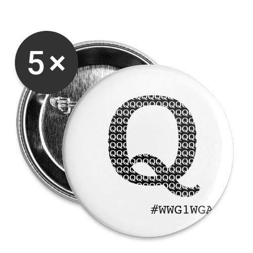 Q wwg1wga - Rintamerkit pienet 25 mm (5kpl pakkauksessa)