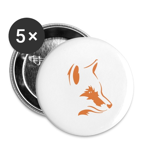 Foxes Squad - Buttons small 1''/25 mm (5-pack)