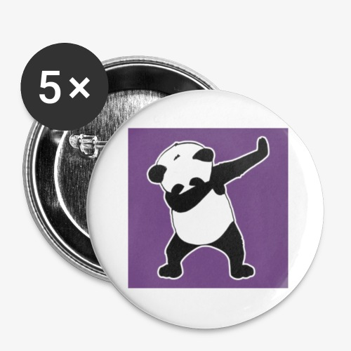 Awsome Vip Panda - Buttons small 25 mm