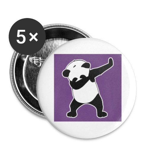 Awsome Vip Panda - Buttons small 1''/25 mm (5-pack)