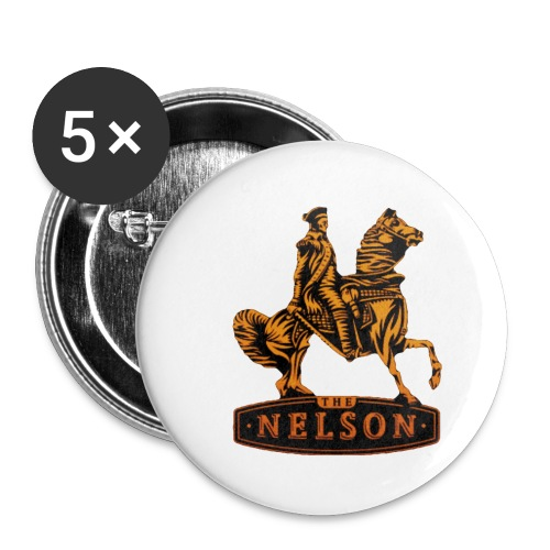 nelson casual - Buttons klein 25 mm (5-pack)