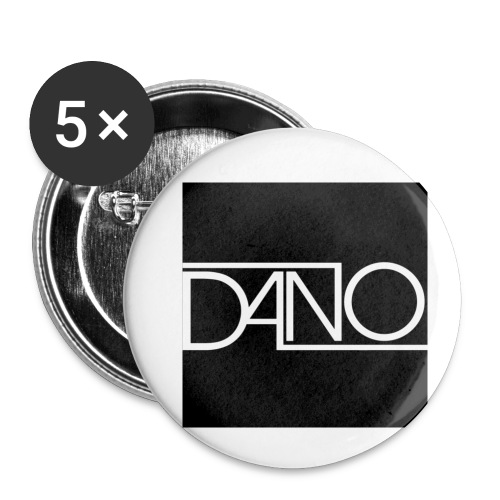 dano 2 - Buttons klein 25 mm (5-pack)