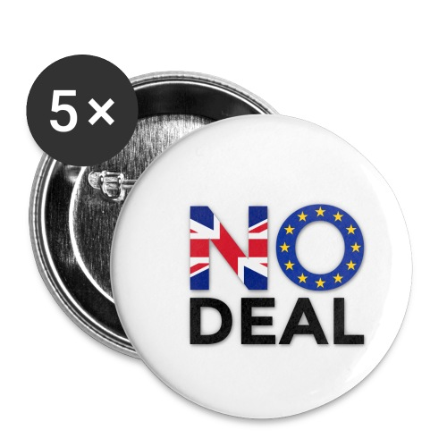 No Deal - Buttons small 1''/25 mm (5-pack)