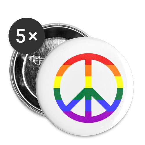 Peace - Buttons klein 25 mm