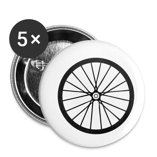 Laufrad - Buttons klein 25 mm (5er Pack)