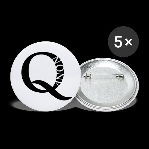 Q Anon Q-Anon Original Logo - Buttons klein 25 mm (5er Pack)