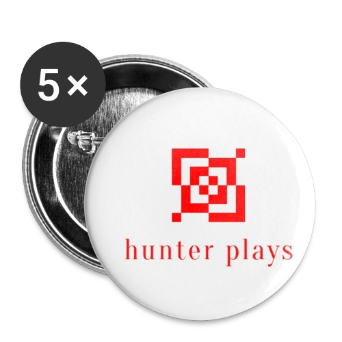 hunter plays - Buttons small 1''/25 mm (5-pack)