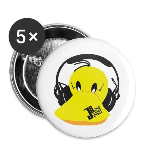 Jaques Raupé - Buttons klein 25 mm (5er Pack)
