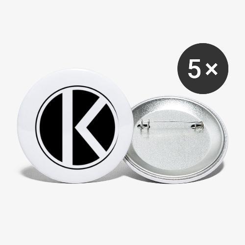  K·CLOTHES  ORIGINAL SERIES - Paquete de 5 chapas pequeñas (25 mm)