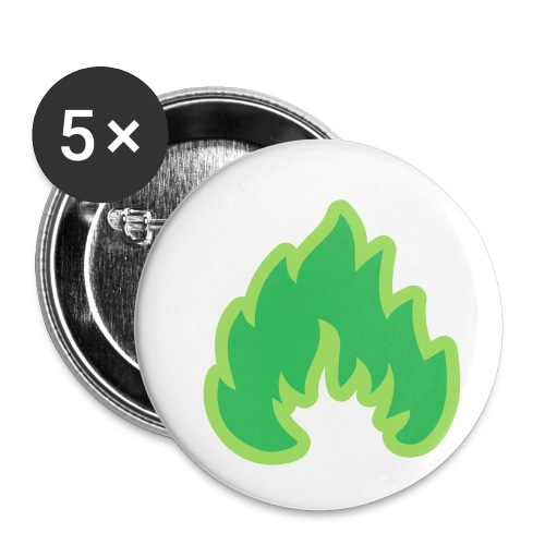 ToxiCShirT - Buttons small 1''/25 mm (5-pack)