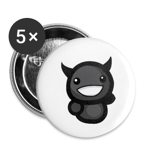Darkest baby - Lot de 5 petits badges (25 mm)
