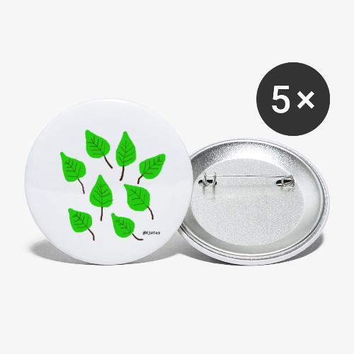 Lehdet - Rintamerkit pienet 25 mm (5kpl pakkauksessa)