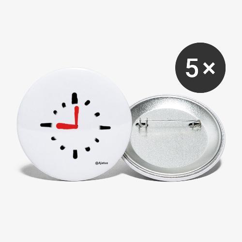 Kello - Rintamerkit pienet 25 mm (5kpl pakkauksessa)