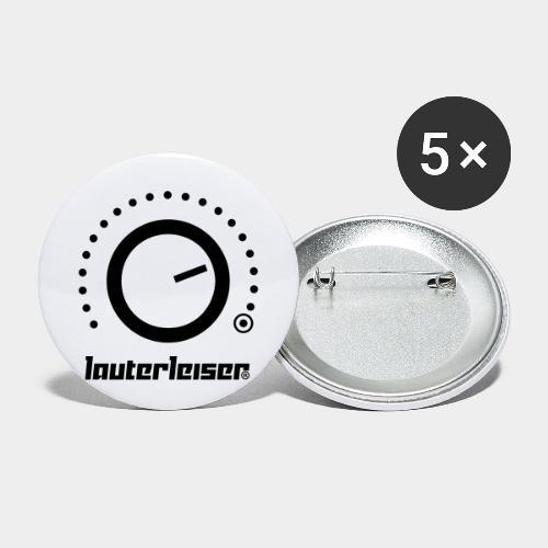 Lauterleiser ® - Buttons klein 25 mm (5er Pack)