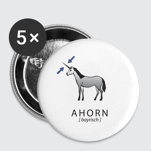 ahorn - Buttons klein 25 mm (5er Pack)