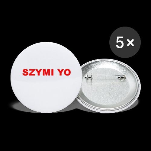 SZYMI YO LOGO - Przypinka mała 25 mm (pakiet 5 szt.)