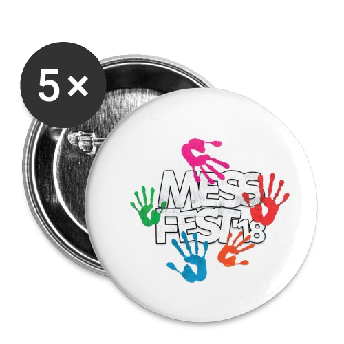 Mess Fest '18 - Buttons small 1''/25 mm (5-pack)