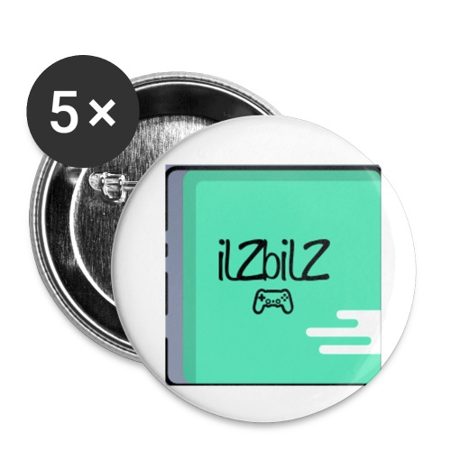 Kids - Buttons small 1''/25 mm (5-pack)