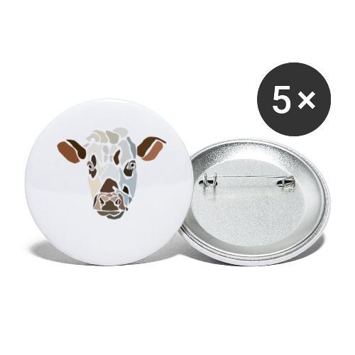 cow-spread - Lot de 5 petits badges (25 mm)