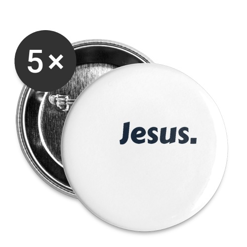 Jesus! - Buttons klein 25 mm (5er Pack)