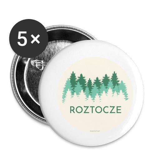 Roztocze - Przypinka mała 25 mm (pakiet 5 szt.)