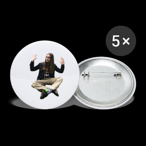 John Essle och Hans Orkester - Små knappar 25 mm (5-pack)