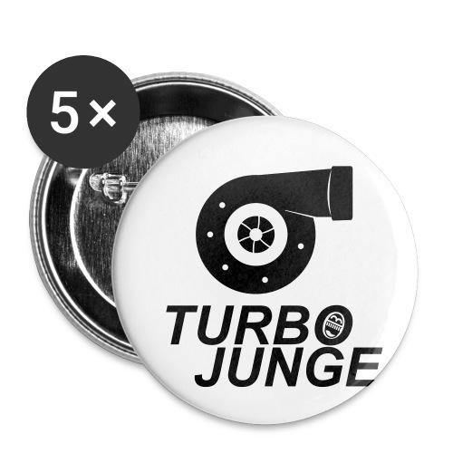 Turbojunge! - Buttons klein 25 mm (5er Pack)