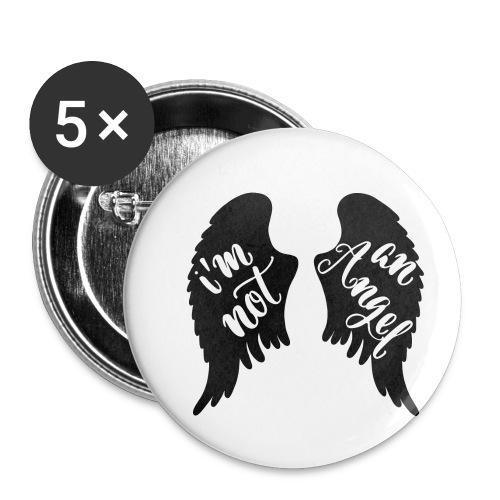 I'm not an angel - Buttons klein 25 mm