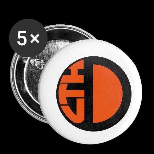 Datalogga utan textrand, för små föremål - Små knappar 25 mm