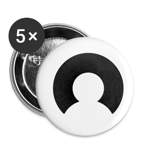 Buttons Forus - Buttons klein 25 mm (5-pack)