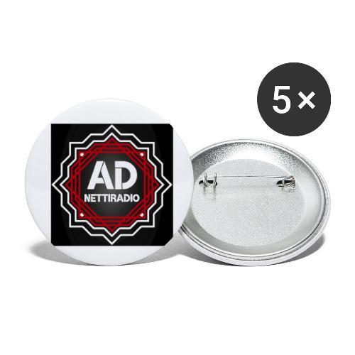 AD-Nettiradio - Rintamerkit pienet 25 mm (5kpl pakkauksessa)