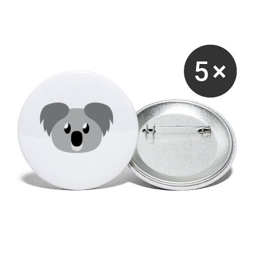 Koala »Kim« - Buttons small 1''/25 mm (5-pack)