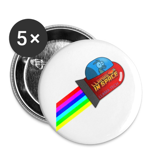 tdsign - Buttons small 1''/25 mm (5-pack)