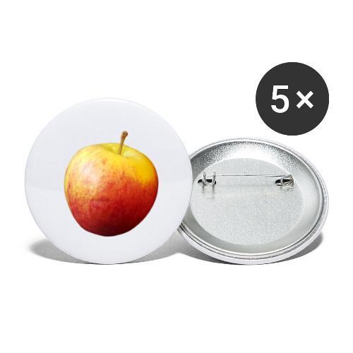 rood fruit met een naam - Buttons klein 25 mm (5-pack)