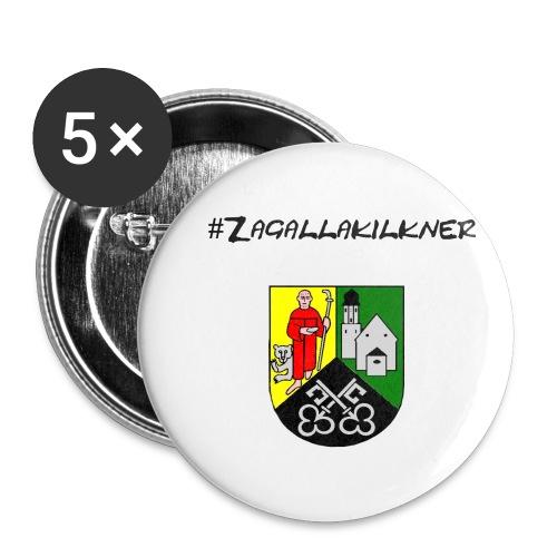 Zagallakilkner - Buttons klein 25 mm (5er Pack)